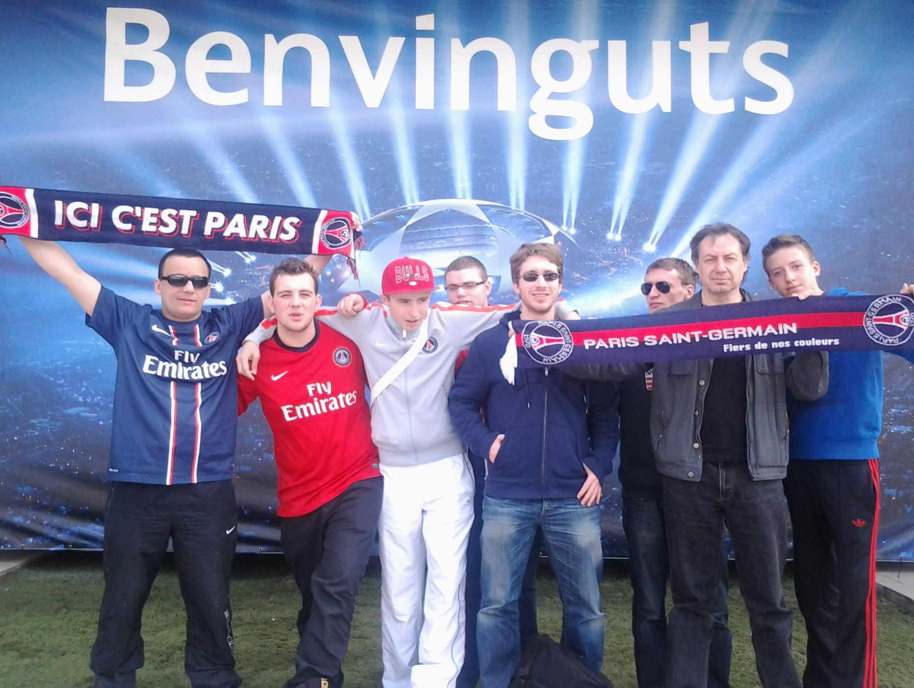 FC Barcelone-PSG : journal de bord d'un groupe de fans parisiens