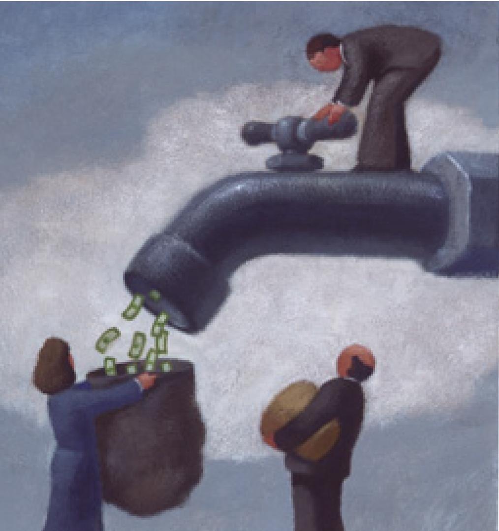 Épargne d'entreprise. Le cache-misère des salaires en berne