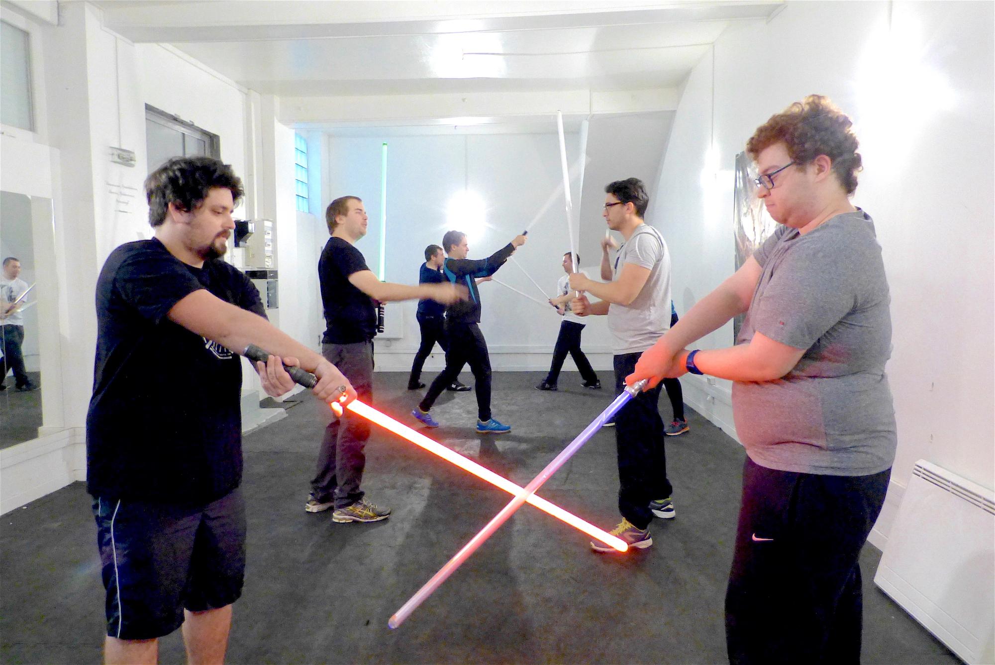 Dans l'académie des Jedi…à Paris !
