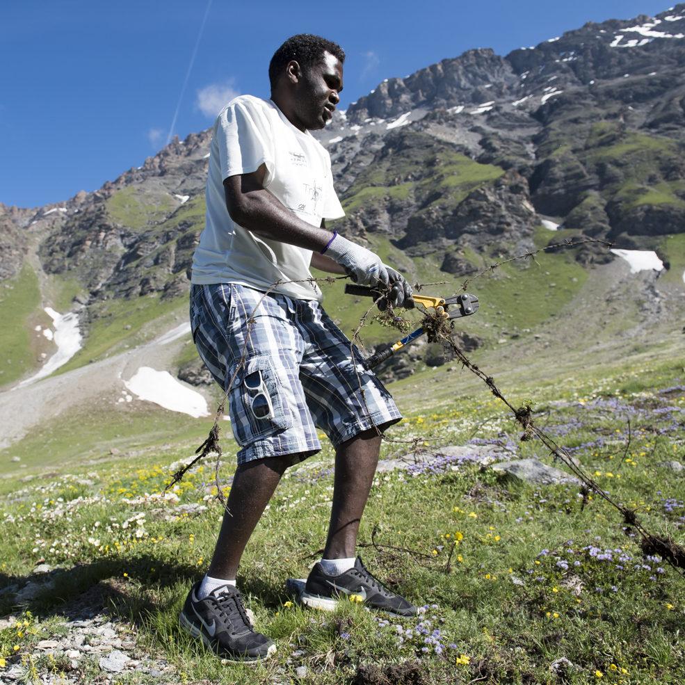 Nettoyeurs de montagnes, effaceurs de frontières