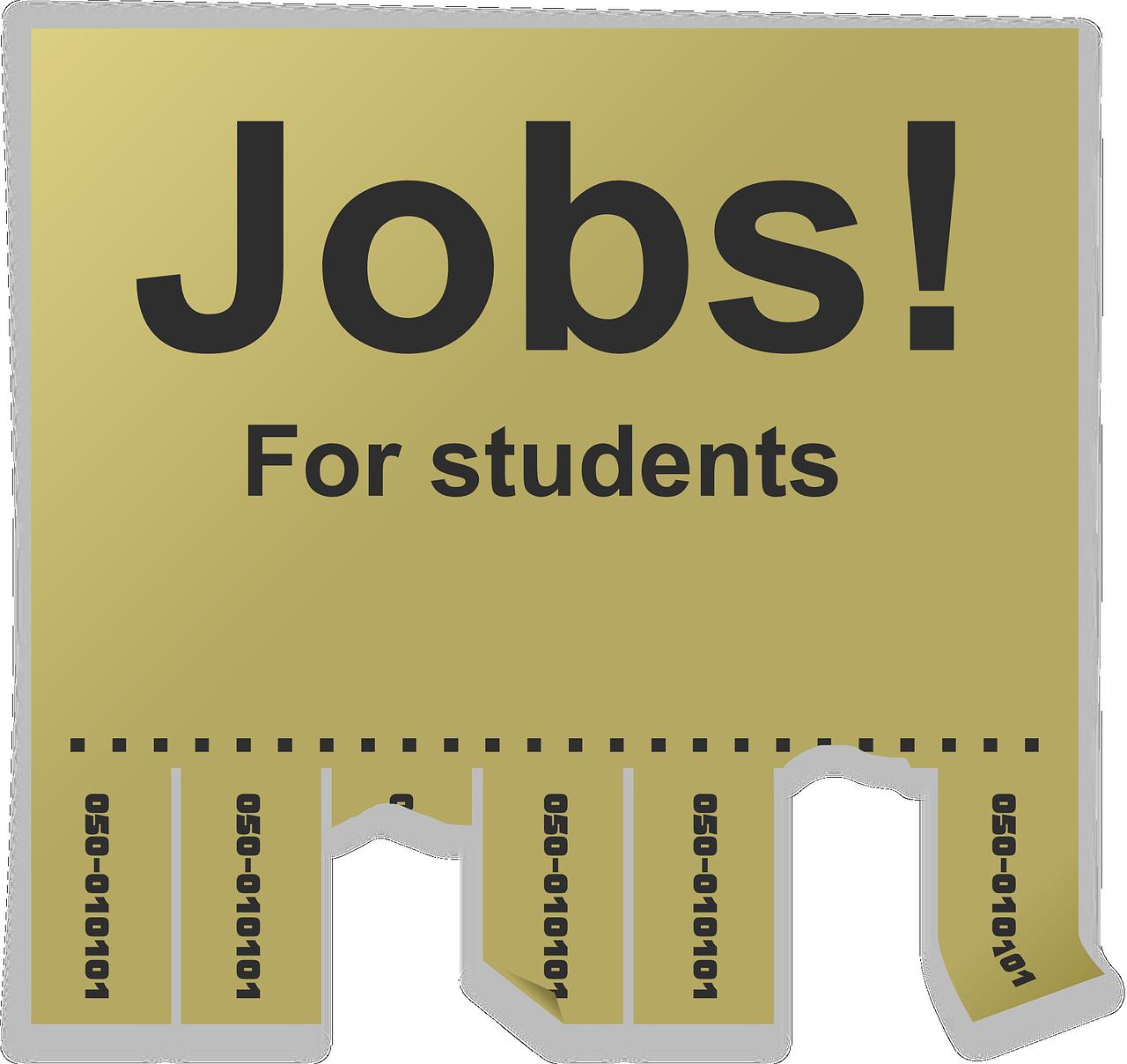 Jobs étudiants. Au service de la flexibilité