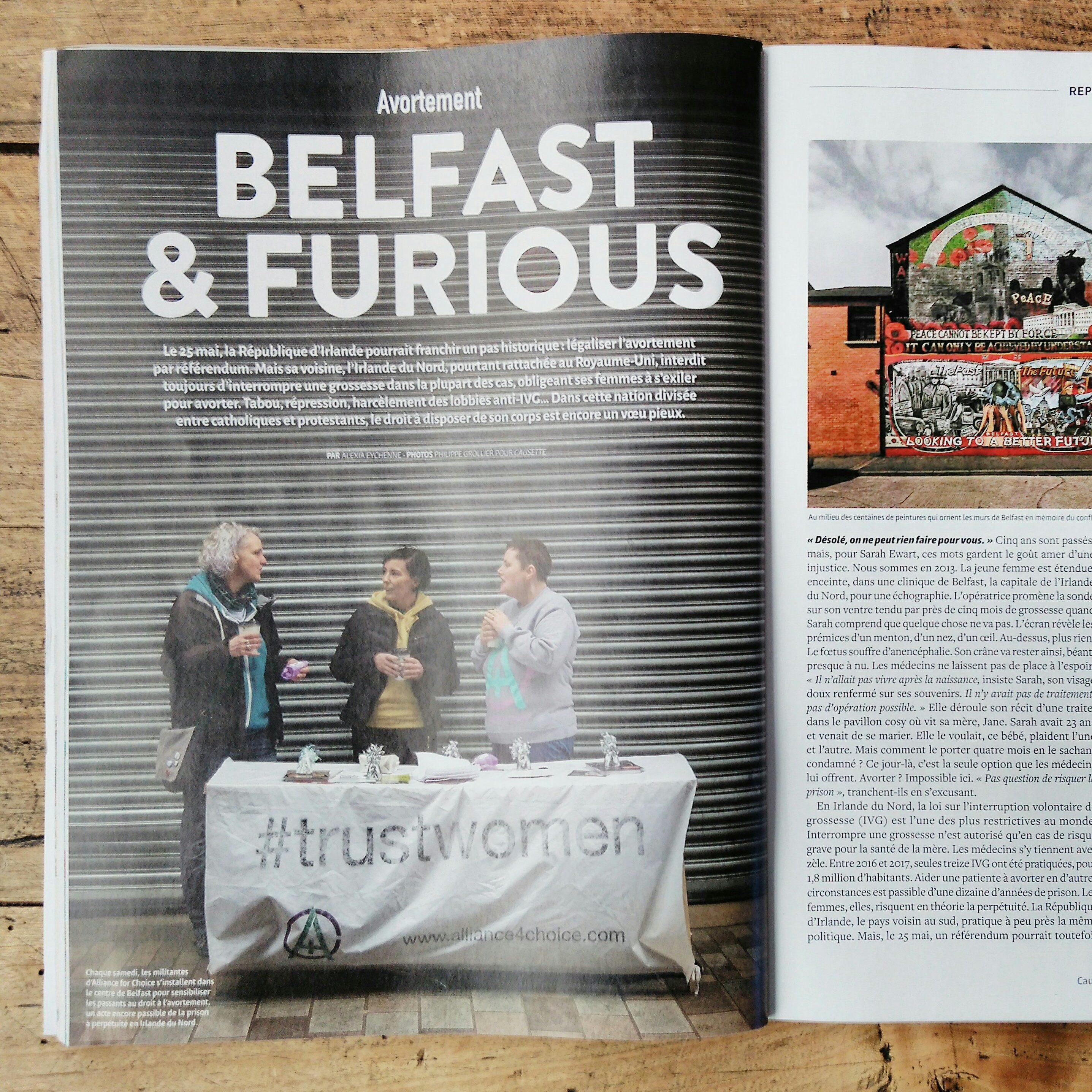 Belfast & furious