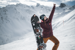 Freeride junior world tour - Anna Martinez - Mia Knoll