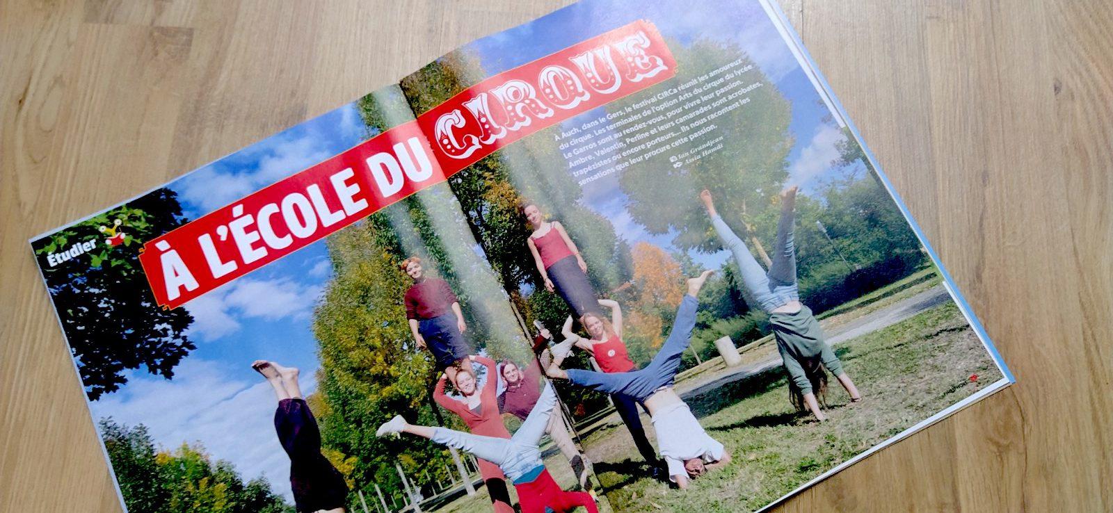 Dossier cirque Phosphore Assia Hamdi
