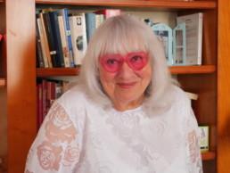 Susie Morgenstern mardi 18 mai 2021 à Paris à l'occasion de la promotion de sonr récit . autobiographique Mes 18 exils Photo :Anne-Flore Hervé.