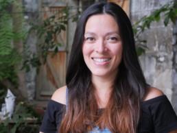 Mai Lan Chapiron au café Les pianos à Montreuil le 9 septembre 2021.